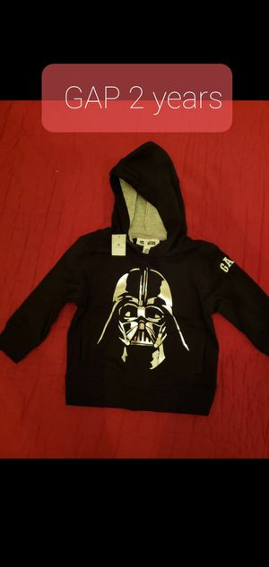 Baby gap toddler 2 years black star wars hoodie sweater for Sale in Falls Church, VA