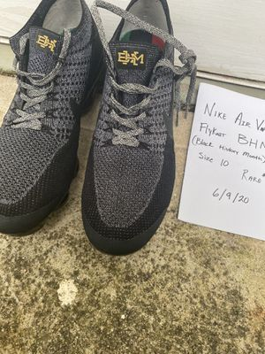 Rare** Nike Air VaporMax Black History Month (2018) Stock X Retail $600 for Sale in Stone Mountain, GA