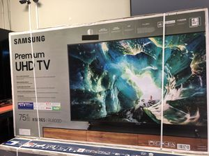 Samsung 75 inch 4K TV eight series 120Hz un75ru8000 for Sale in Los Angeles, CA