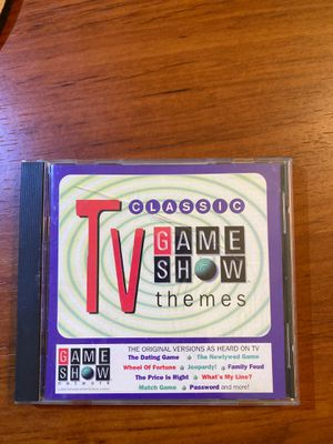 Classic TV Game Show Themes CD for Sale in North Olmsted, OH
