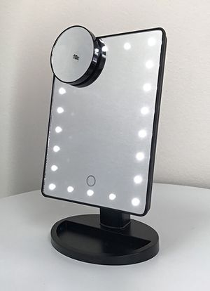 """New in box $15 each 11x6.5"""" LED Vanity Makeup Mirorr Touch Screen Dimming w/ 10x Magnifying for Sale in El Monte, CA"""