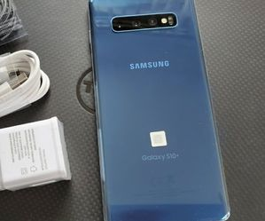 Samsung Galaxy S10 plus (S10+) - just like new, factory unlocked, clean IMEI for Sale in Springfield,  VA