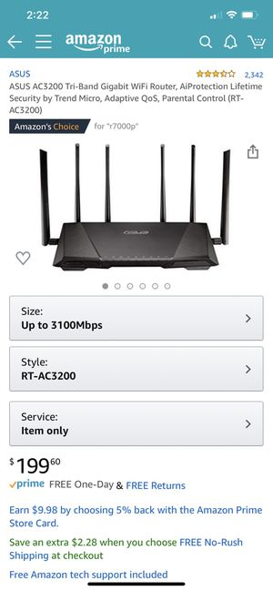 Wireless Router - Asus for Sale in Fresno, CA