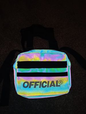 Rainbow reflective chest bag for Sale in Orlando, FL