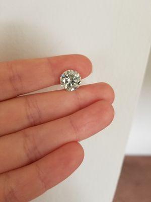 New 2.5 ct beautiful moissanite loose diamond!!! for Sale in Bloomfield Hills, MI