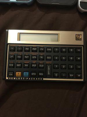 HP 12C Financial Calculator - Black, (12C-ABA) for Sale in Prattville, AL