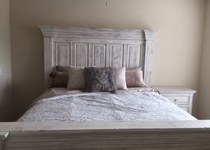 King Size Wood Bed Frame for Sale in Washington, DC