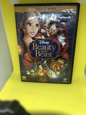 Beauty and the Beast (DVD, Disney, 2010, 2-Disc Set) - Free Shipping! for Sale in Atlanta, GA