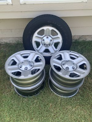 Wheels and tires for Jeep Wrangler for Sale in Round Rock, TX