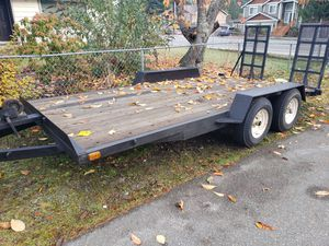 Car trailer,dual wheel. for Sale in Everett, WA