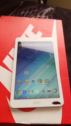 ANDROID TABLET ACER 16 GB for Sale in North Las Vegas, NV