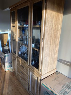 Hutch and table w 6 chairs for Sale in Seattle, WA
