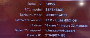 Smart TV - TCL Roku for Sale in Santa Clara, CA