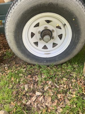Trailer wheels and tires for Sale in Oroville, CA