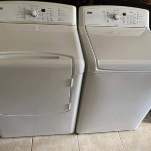 KENMORE ELITE OASIS HE XL WASHER & DRYER SET !!! ELECTRIC ⚡️ FREE DELIVERY & FREE INSTALL for Sale in Houston, TX