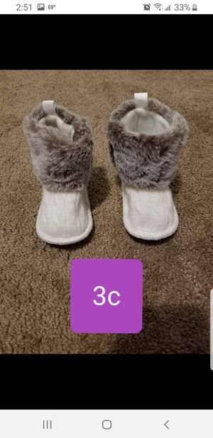 Baby Girls boots 3c for Sale in Woodhaven, MI