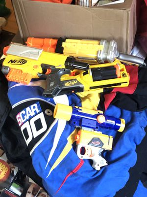 Various nerf guns for Sale in Columbus, OH