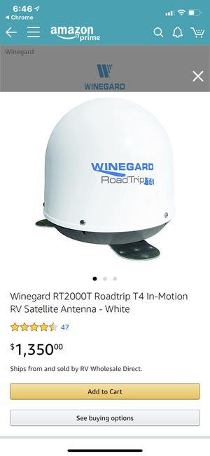 Winegard T2000 T4 in motion HD RV Satellite . for Sale in Phoenix, AZ