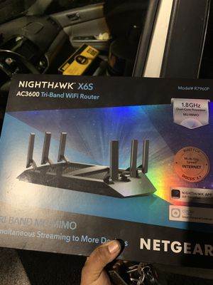 Netgear Nighthawk X6S Tri band Router for Sale in Plantation, FL