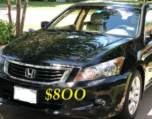 ✅✅❇️URGENTLY $8OO I sell my family car 2OO9 Honda Accord Sedan EX-L Runs and drives great.Clean title!!✅❇️❇️ for Sale in Bridgeport, CT