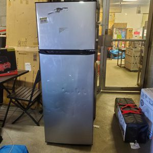 Galanz 12.0 cu. ft. Top Freezer Refrigerator with Dual Door, Frost for Sale in Galloway, OH