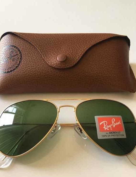 Brand New Authentic RayBan Aviator Sunglasses