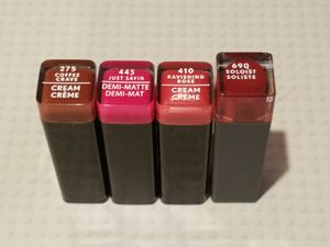4 Covergirl Lipsticks for Sale in Kent, WA