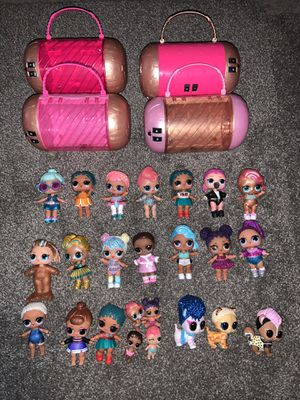 Lot of LOL dolls and accessories for Sale in Lockport, IL