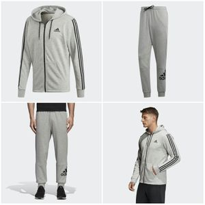 Adidas French Terry Top And bottom grey/BLK brand new in plastic for Sale in Atlanta, GA