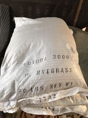 Perennial rye grass seed for Sale in Fresno, CA
