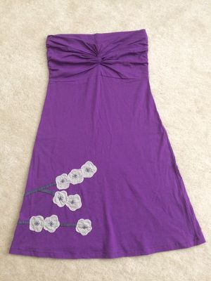 Strapless Dress Sundress Boutique Brand L for Sale in Apex, NC
