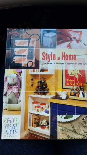 Style at Home The BeT of Today's Creative Home Arts book for Sale in Wellington, FL