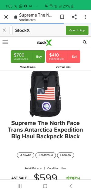 Supreme x The North Face for Sale in Homestead, FL