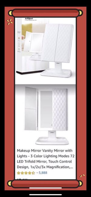 Excellent Makeup Mirror Vanity Mirror with Lights for Sale in Alhambra, CA
