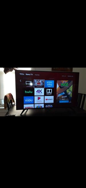 Tcl roku tv 50inch for Sale in Chicago, IL
