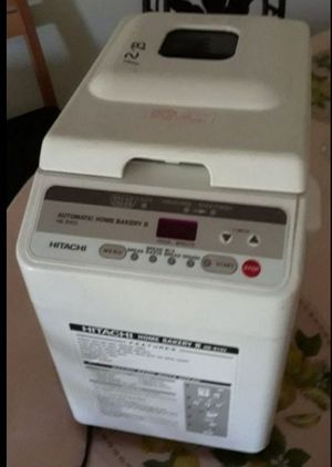 Hitachi bread machine $30 for Sale in Tamarac, FL
