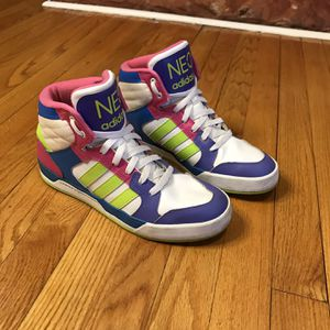 Adidas NEO Raleigh Mid Womens Size 8.5 Sneakers Shoes F76268 Leather for Sale in French Creek, WV