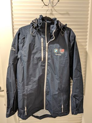 Lands End BMW Olympics Raincoat Size Medium for Sale in Los Angeles, CA