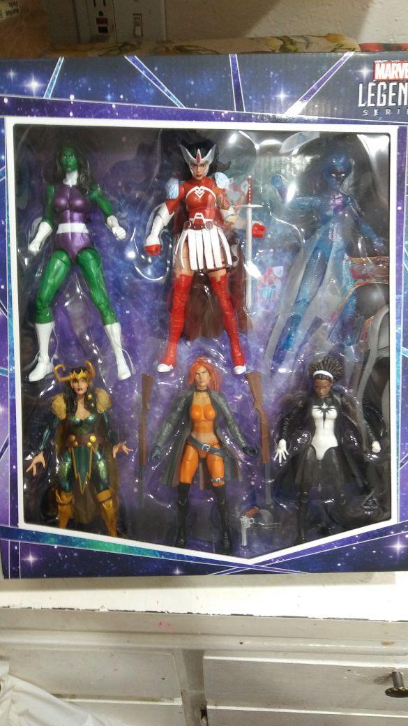 Marvel Legends A- Force Heroines Set
