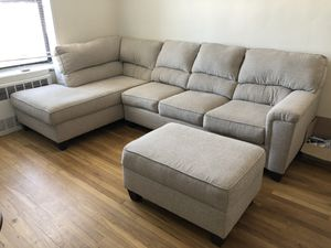 Bobs Furniture The Calvin Sectional for Sale in Brooklyn, NY