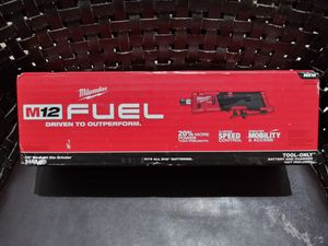 Milwaukee M12 Straight Die Grinder Tool Only for Sale in Miami, FL