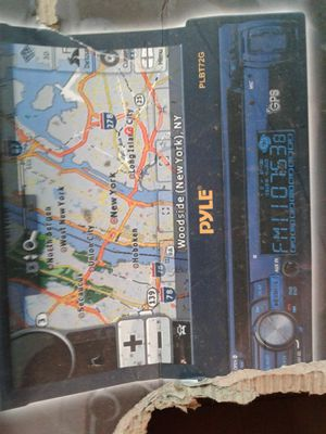 Car Amplifiers & Single Din Plye Radio with Navagation for Sale in Philadelphia, PA