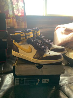 Jordan 1 High Strap Grand Purple for Sale in Merepoint, ME