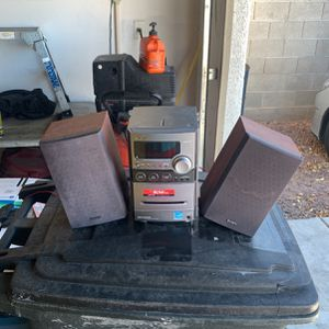 Sony Tape/cd Player 30w System for Sale in Las Vegas, NV
