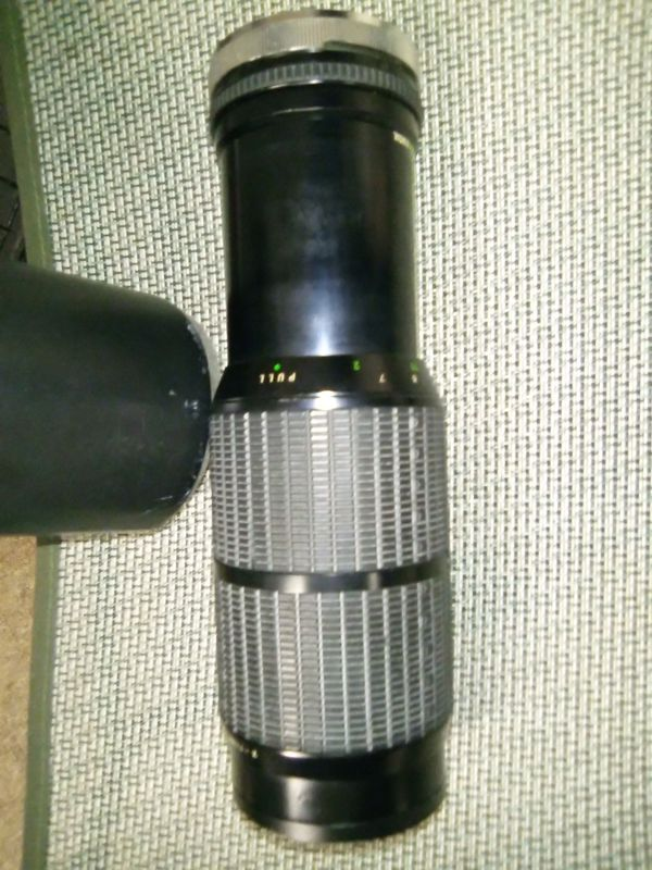Vintage Vivitar 75mm-250mm One Touch Sigma Zoom Lens for Cannon