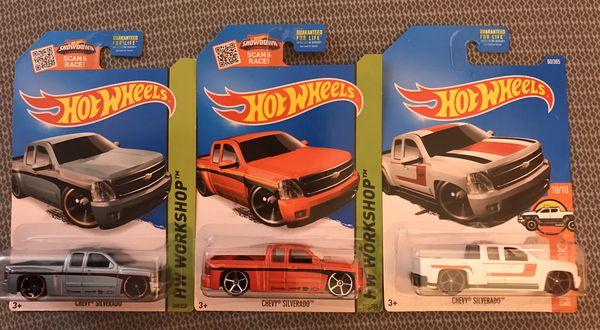 Hot Wheels Chevy Truck lot