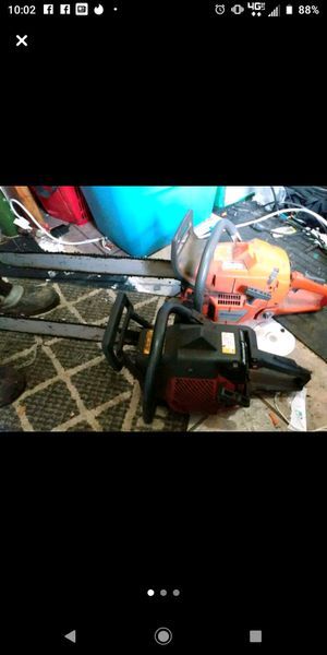 "Jonsered tturbo 2054 chainsaw 24"" blade Husqvarna 365 65cc 30"" blade for Sale in Springfield, OR"