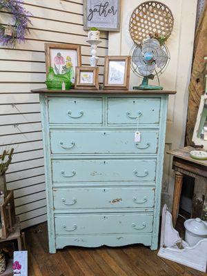 Rustic blue dresser for Sale in Oak Ridge, TN