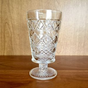 Vintage depression glass EAPG celery vase stemware cup for Sale in Santa Ana, CA