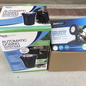 Assorted Pond/Fountain Equipment for Sale in Huntington Beach, CA